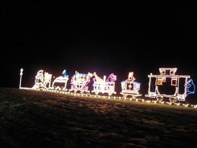 the winter festival of lights at oglebay resort wheeling wv holiday displays on waymarkingcom - Oglebay Park Christmas Lights