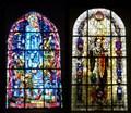 Image for Paratrooper Memorial Windows - Sainte-Mère-Église, Normandy, France