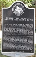 Image for Tenth Street Historic District Freedmen's Town