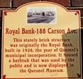 Image for Former Royal Bank - Quesnel, BC