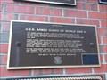 Image for U.S.N. Armed Guard Plaque - Buffalo, NY