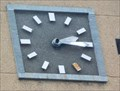 Image for The clock on the post office - Kaunas, Lithuania