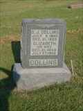 Image for 105 - Elizabeth Collins - Fairlawn Cemetery - Stillwater, OK