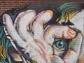 Image for Peeking Woman Mural - OKC, OK