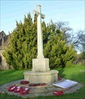 Image for WWI & WWII War Memorial, St John the Baptist, Claines, Worcestershire, England