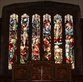Image for Stained Glass, St Alkelda's Church, Giggleswick, North Yorks, UK