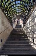 Image for Schodište v Malé Fürstenberské zahrade / Stairway in the Lesser Fürstenberg Garden (Prague)