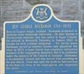 Image for Rev. George Buchanan 1761 - 1835 - Franktown, Ontario