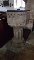 Image for Baptism Font - St James the Great - Gretton, Northamptonshire