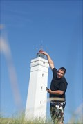 Image for Placing a new bulb in the lighthouse !