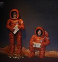 Image for Astronauts Cutout - United States Astronaut Hall Of Fame - Titusville, Fl