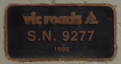 Vic Roads, SN. 9277, 1999
