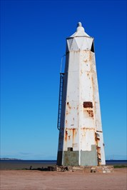 This lighthouse is located right next to the Port Germein Jetty