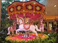 Image for Atrium at wynn las vegas features floral hot air balloon, carousel
