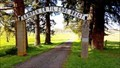 Image for The Danish Cemetery Arch - Junction City, OR