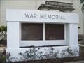 Image for War Memorial - Tampa, FL