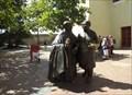 Image for Escultura San Pedro Claver Y Esclavo - Cathagena, Columbia