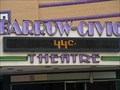 Image for Barrow-Civic Theatre Timepiece - Franklin, PA