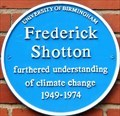 Image for Frederick William Shotton - The University of Birmingham - Edgbaston, Birmingham, U.K.