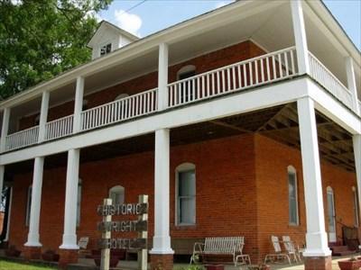 Wright Hotel Chatsworth Georgia U S National Register Of Historic Places On Waymarking