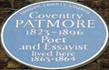 Image for Coventry Patmore - Percy Street, London, UK