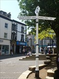 Image for Direction and Distance Arrows - Kendal, Cumbria, UK.