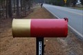 Image for Shotgun Shell Mailbox, near Waxhaw, NC, USA