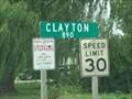 Image for Clayton, Illinois.  USA.