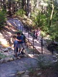Image for Flume Trail Footbridge (2 of 2) - Castle Crags State Park