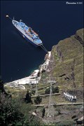 Image for Santorini Cable Car at Santorini Island (Greece)