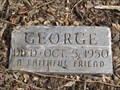 Image for George, A Faithful Friend -- Lawrence KS