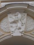 Image for Malý znak republiky Ceskoslovenské  - Gymnázium Štepánská, Praha, CZ
