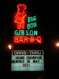 "Image for ""Big Bob"" Gibson BAR-B-Q neon - Decatur, AL"