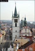 Image for Mestská vež u kostela Všech Svatých / Town's tower at Church of All Saints (Litomerice - North Bohemia)