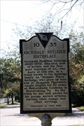 Image for Archibald Rutledge Birthplace 10-35 - McClellanville, SC