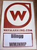 Image for Blingg's Waymarking sticker