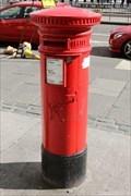 Image for Victorian Pillar Box - Lothian Street, Edinburgh, Scotland