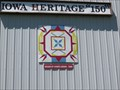 Image for Iowa Heritage Barn Quilt – What Cheer, IA