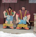 Image for Lumberjack Feud Cutout - Pigeon Forge, TN