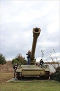Image for M110 203mm Self-Propelled Howitzer -- Kiamichi Valley War Memorial, Talihina OK