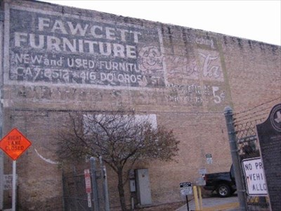 Fawcett Furniture Coca Cola San Antonio Tx Ghost Signs On