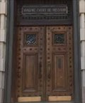 Image for Doors of the Supreme Court of Missouri - Jefferson City, MO