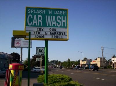 Splash And Dash Car Wash >> Splash N Dash Car Wash Keizer Oregon Coin Operated Self