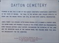 Image for Dayton Cemetery