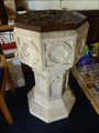 Image for The Font - All Saints' Church - Church Lawton, Stoke- on- Trent, Staffordshire.