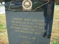 Image for Amvets Memorial in I-75 NB Tennessee Rest Area