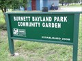 Image for Burnett Bayland Park Community Garden - Houston, TX