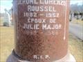 Image for 102 - Julie (Major) Roussel -  cimetière Notre-Dame, Gatineau (Hull), Québec