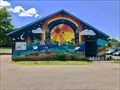 Image for Manos de Pachamama mural by Nina Yagual, et al - Turners Falls, Massachusetts