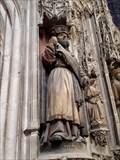 Image for Statues en pierre polychromée, Cathedral d'Albi - Albi, France